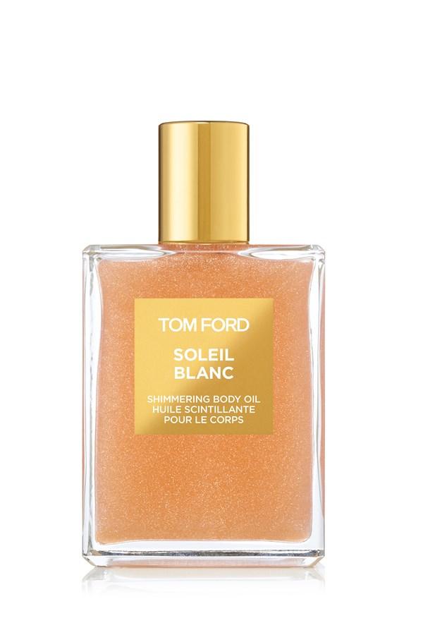 soleil blanc shimmering body oil - tom ford - smith & caughey's