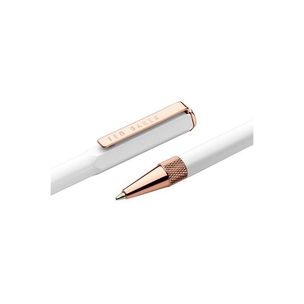753d410b9780d6 Ballpoint Pen White Quartz - TED BAKER - Smith   Caughey s - Smith and  Caughey s