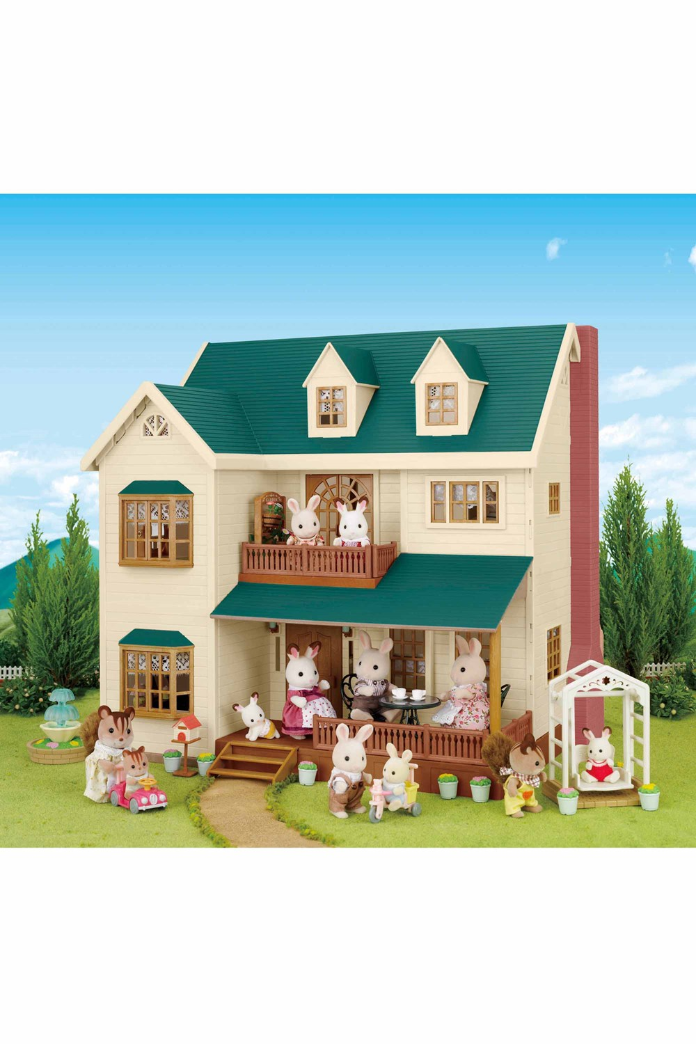 'House on the Hill' Deluxe Village House - Sylvanian ...