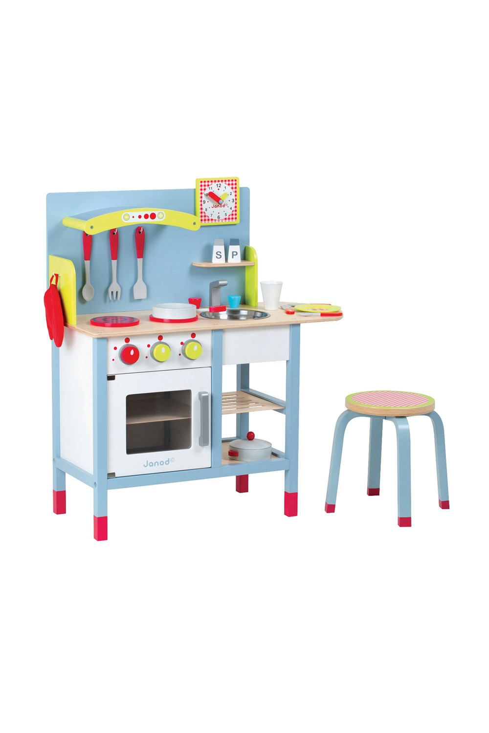 39 picnik 39 duo kitchen playset janod smith caughey 39 s. Black Bedroom Furniture Sets. Home Design Ideas